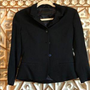 Prada black blazer 38/0
